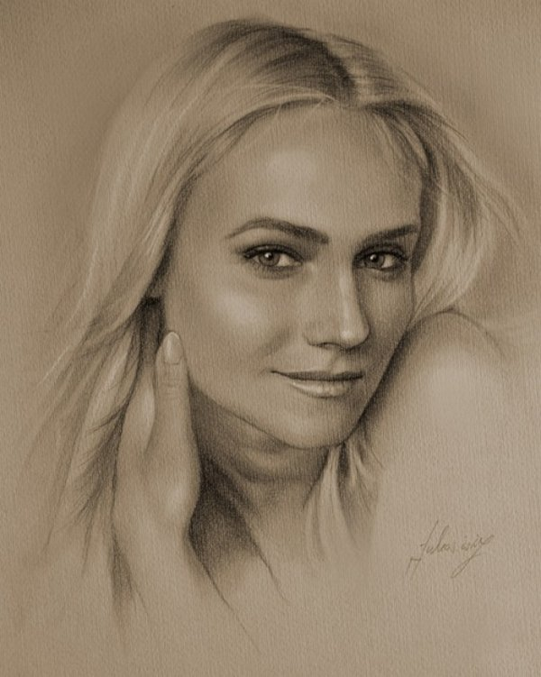 celebrities drawn in pencil 26 So Real Paintings... Are You Sure That Is Drawn In Pencil?