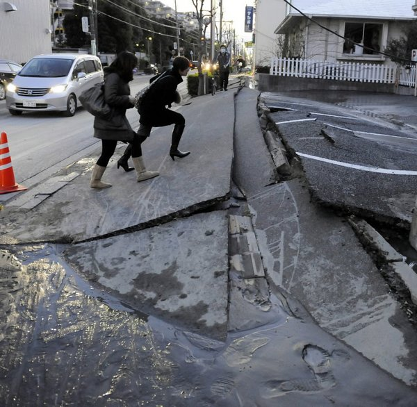 earthquake in japan 2011 10 30 Most Incredible Photos Of The Japan Earthquake 