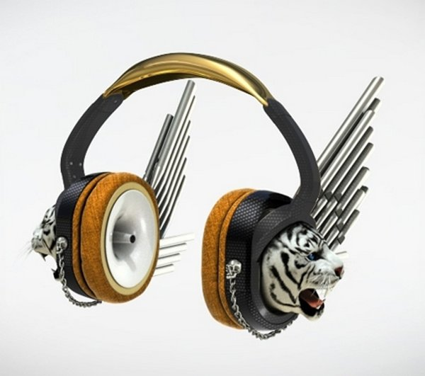 headphones designs 10 12 Hilarious & Unusual Headphones Designs