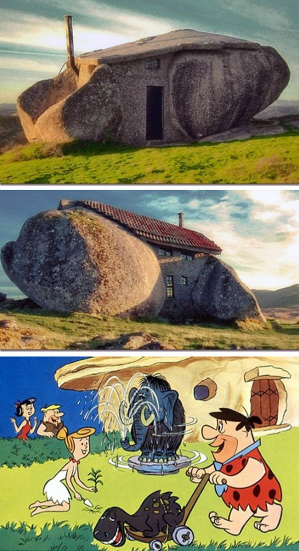 real house inspired by cartoons 01 10 Amazing Houses Inspired By Favorite Cartoons
