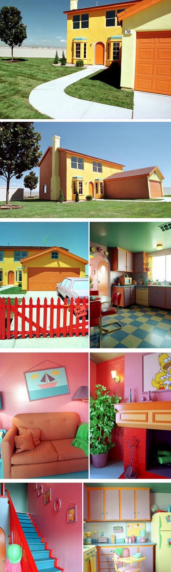 real house inspired by cartoons 03 10 Amazing Houses Inspired By Favorite Cartoons