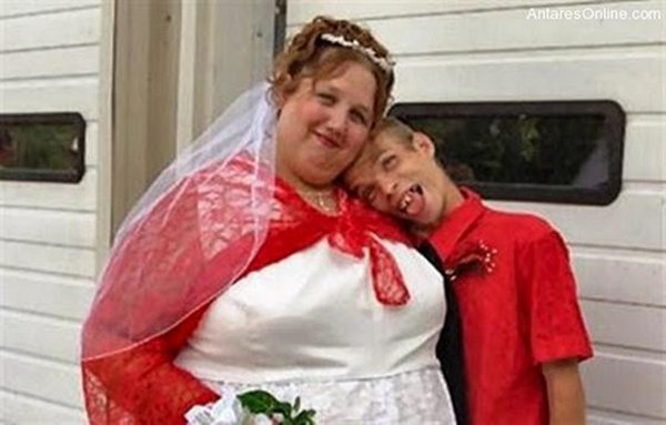 ugly couples 01 15 Most Ugly Couples In The World