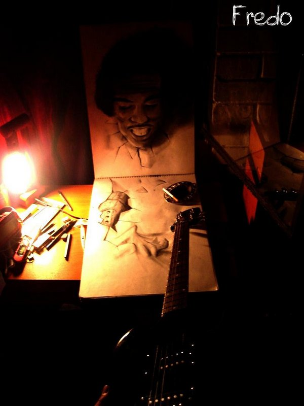 3d drawings by fredo 08 20 Unbelievable 3D Drawings By 18 Year Old Boy