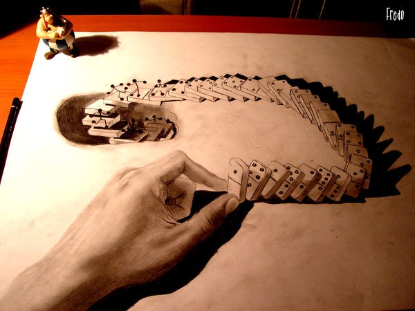 3d drawings by fredo 11 20 Unbelievable 3D Drawings By 18 Year Old Boy