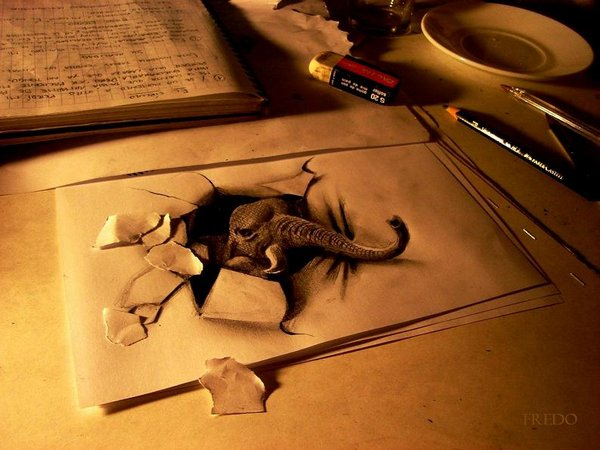 3d drawings by fredo 15 20 Unbelievable 3D Drawings By 18 Year Old Boy