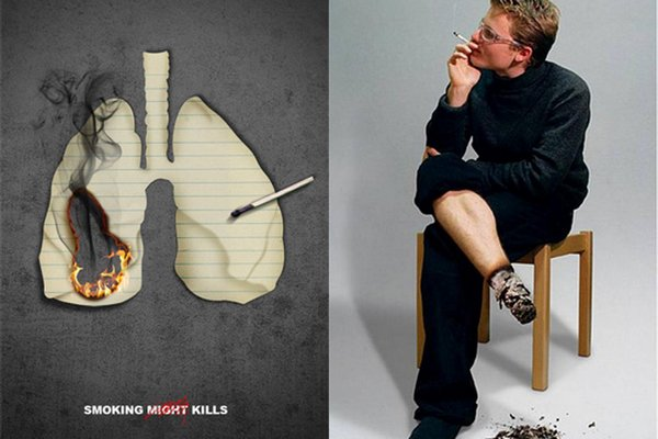anti smoking advertisements 02 Top 40 Extra Creative Anti Smoking Advertisements. Still Smoke?!