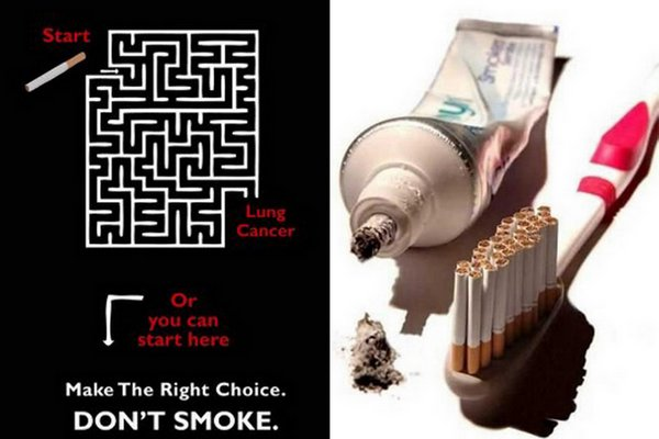 anti smoking advertisements 10 Top 40 Extra Creative Anti Smoking Advertisements. Still Smoke?!