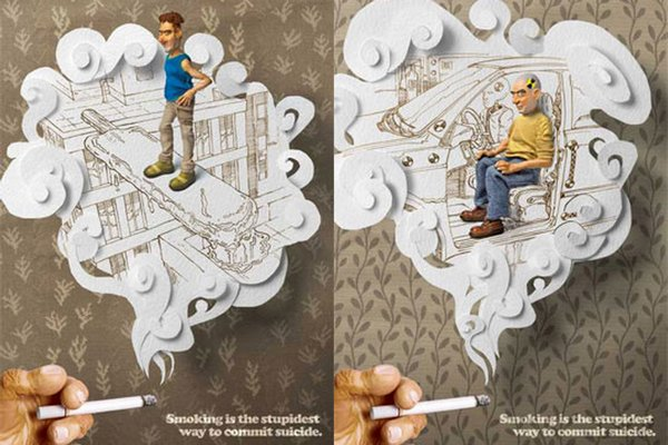 anti smoking advertisements 17 Top 40 Extra Creative Anti Smoking Advertisements. Still Smoke?!