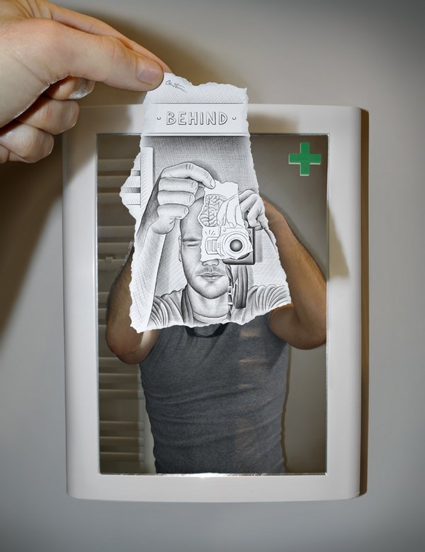 ben heine 07 Pencil VS Camera By Ben Heine
