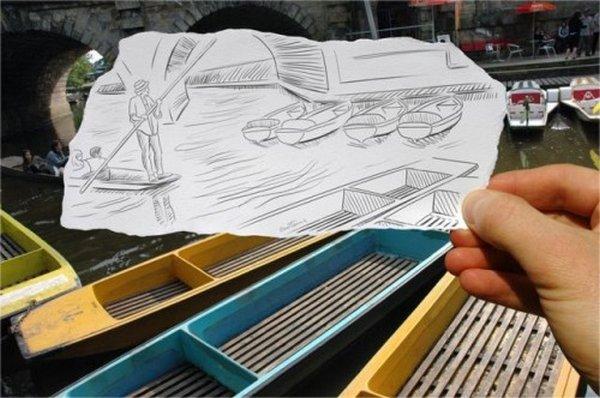 ben heine 16 Pencil VS Camera By Ben Heine