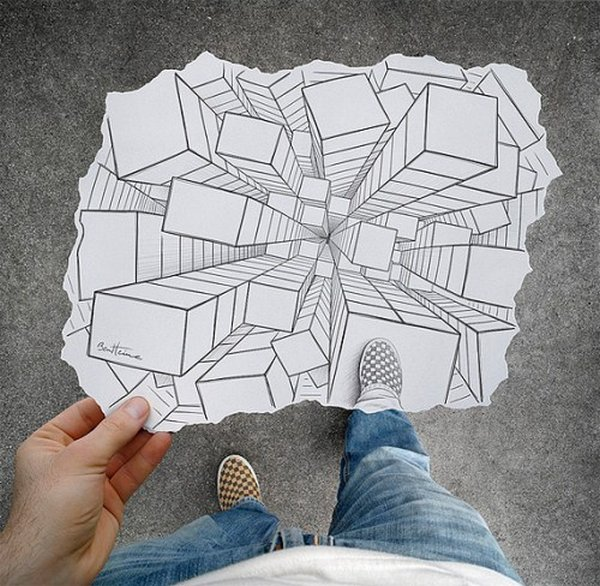 ben heine 21 Pencil VS Camera By Ben Heine
