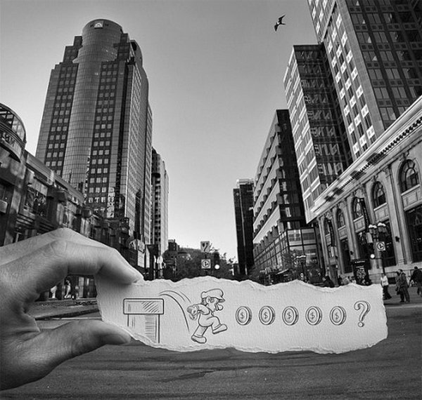 ben heine 26 Pencil VS Camera By Ben Heine