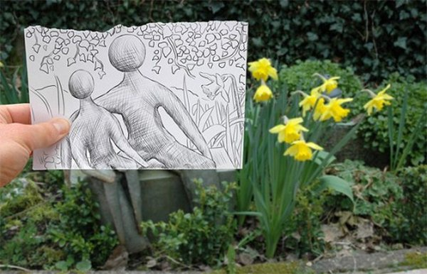 ben heine 28 Pencil VS Camera By Ben Heine
