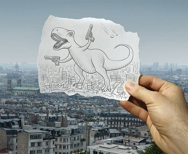 ben heine 30 Pencil VS Camera By Ben Heine