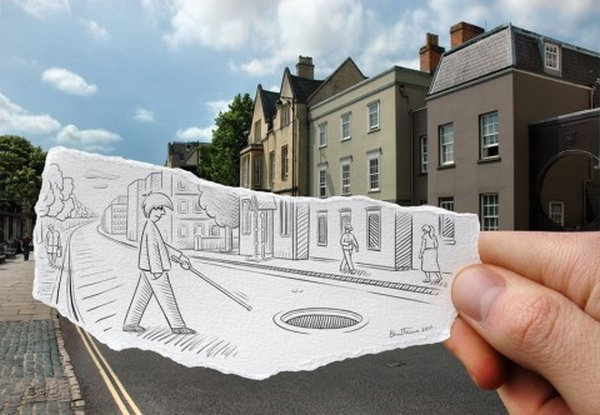 ben heine 36 Pencil VS Camera By Ben Heine