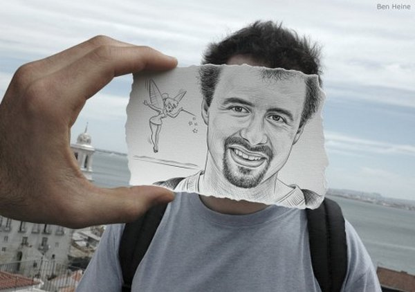 ben heine 38 Pencil VS Camera By Ben Heine