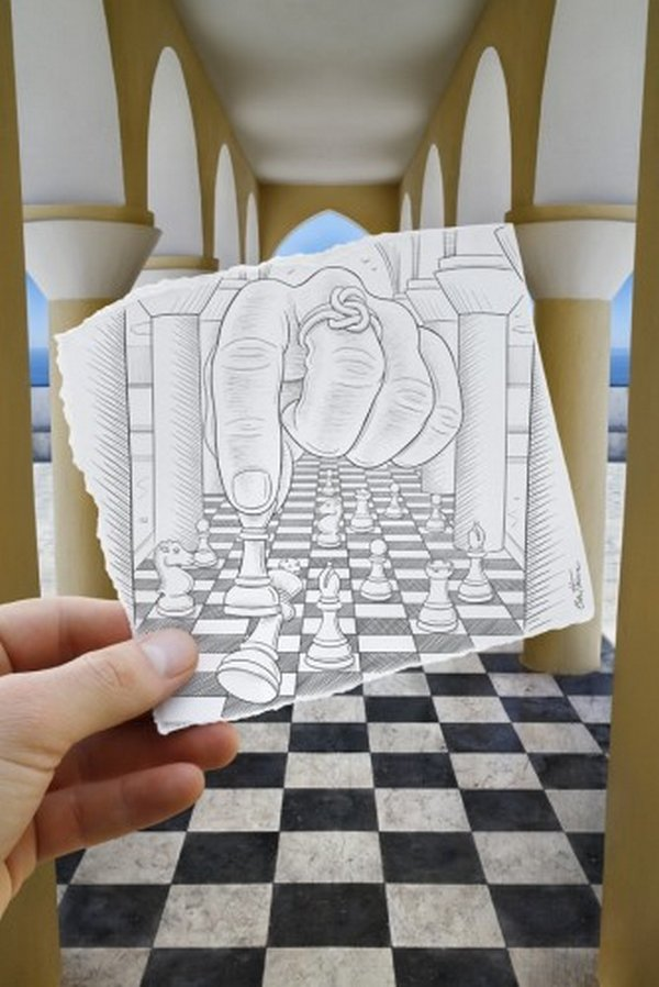 ben heine 39 Pencil VS Camera By Ben Heine