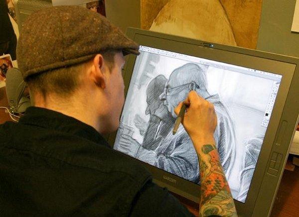 caricaturist jason seiler 01 40 Extraordinary Drawings by Master Caricaturist Jason Seiler