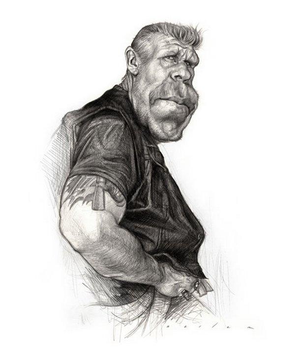 caricaturist jason seiler 28 40 Extraordinary Drawings by Master Caricaturist Jason Seiler