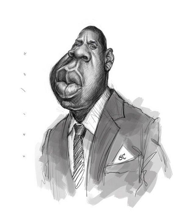 caricaturist jason seiler 34 40 Extraordinary Drawings by Master Caricaturist Jason Seiler