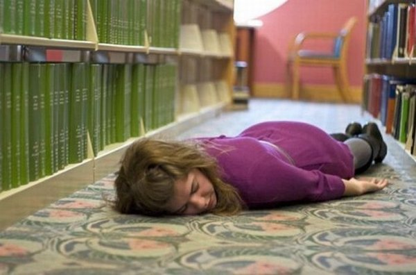 sleeping in library 01 Sleeping In The Library