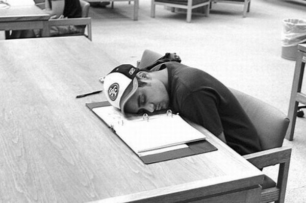 sleeping in library 06 Sleeping In The Library