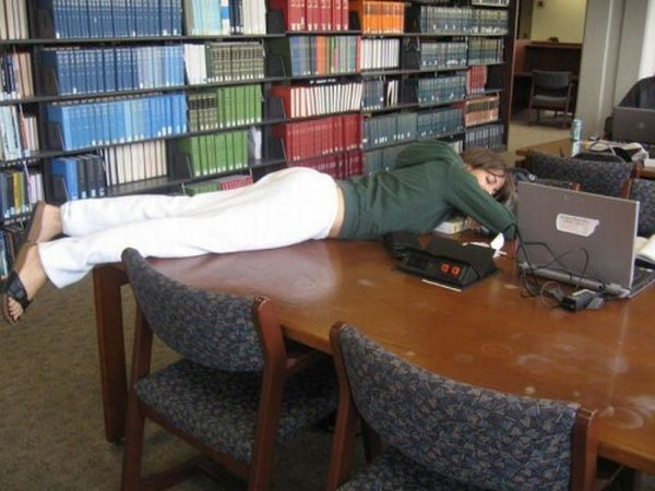 sleeping in library 10 Sleeping In The Library