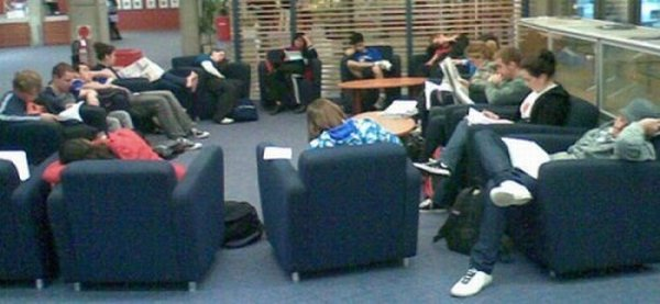 sleeping in library 16 Sleeping In The Library