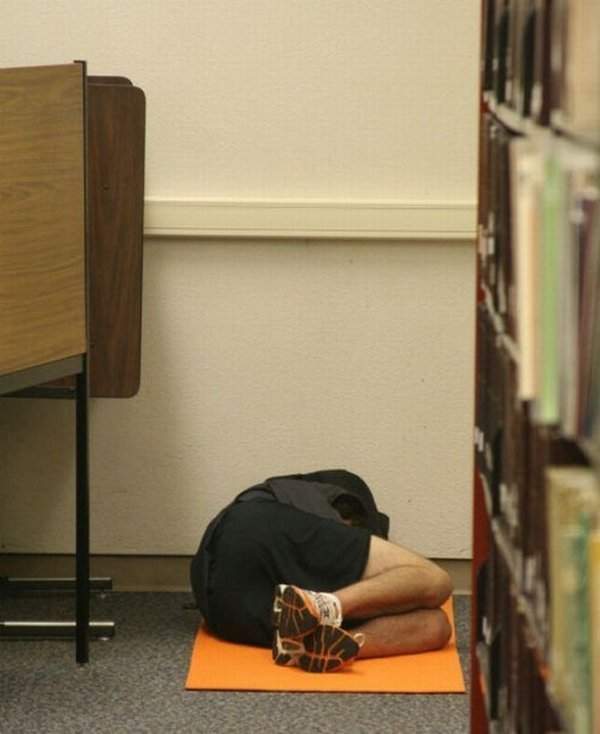 sleeping in library 17 Sleeping In The Library