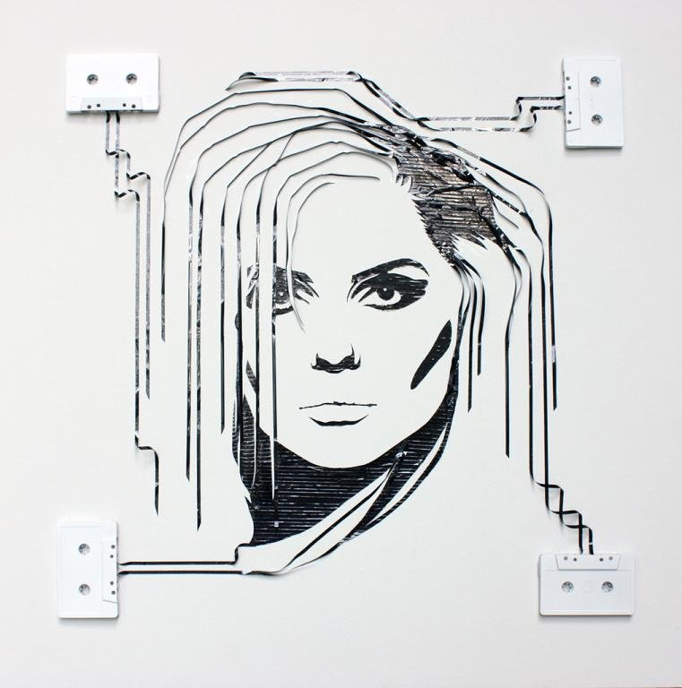 tape art by erika iris simmons 01 Unbelievable Tape Art Like Youve Never Seen Before