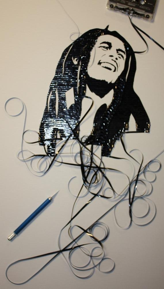 tape art by erika iris simmons 03 Unbelievable Tape Art Like Youve Never Seen Before