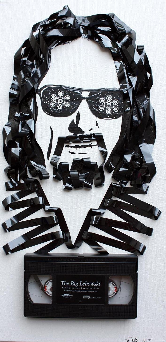 tape art by erika iris simmons 07 Unbelievable Tape Art Like Youve Never Seen Before