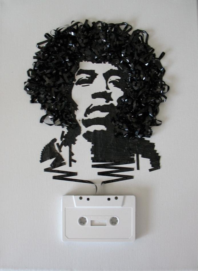 tape art by erika iris simmons 13 Unbelievable Tape Art Like Youve Never Seen Before