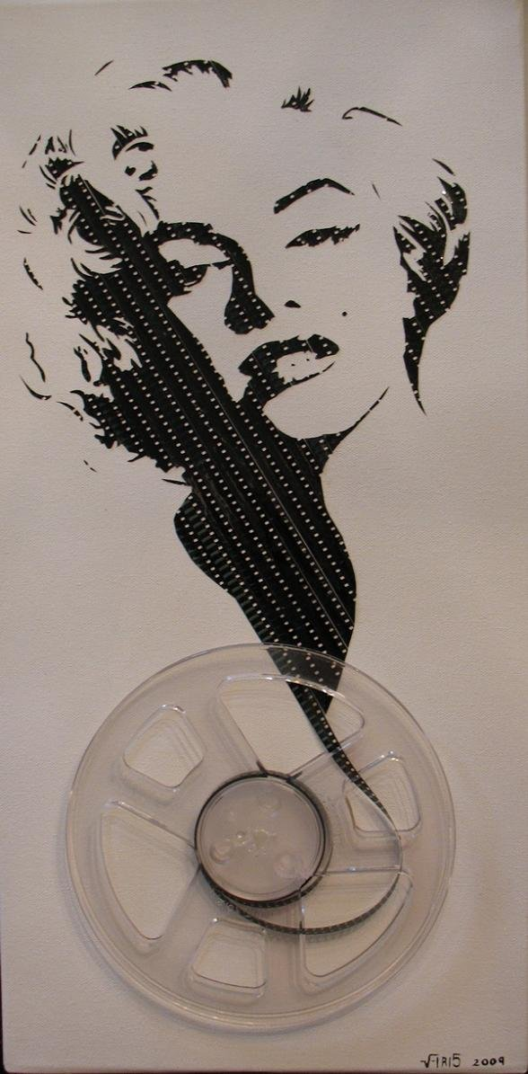 tape art by erika iris simmons 15 Unbelievable Tape Art Like Youve Never Seen Before