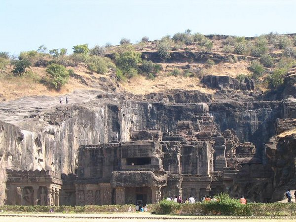 temples of india 01 Amazing Cliff Temples of India   The Ellora Caves