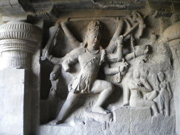 temples of india 05 Amazing Cliff Temples of India   The Ellora Caves