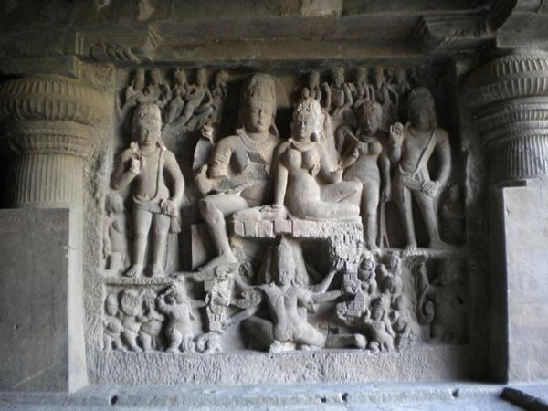 temples of india 07 Amazing Cliff Temples of India   The Ellora Caves