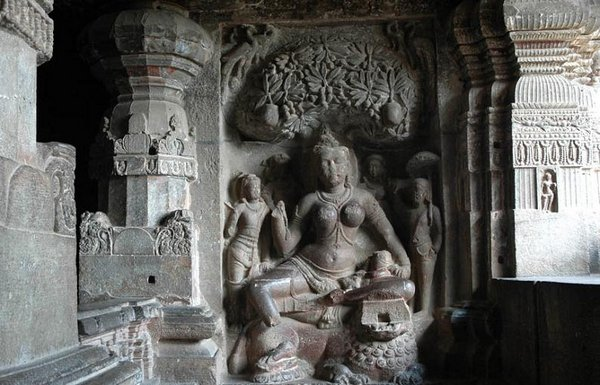 temples of india 09 Amazing Cliff Temples of India   The Ellora Caves