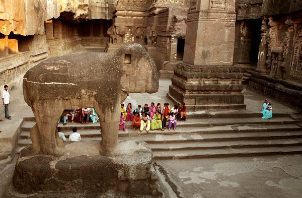 temples of india 12 Amazing Cliff Temples of India   The Ellora Caves