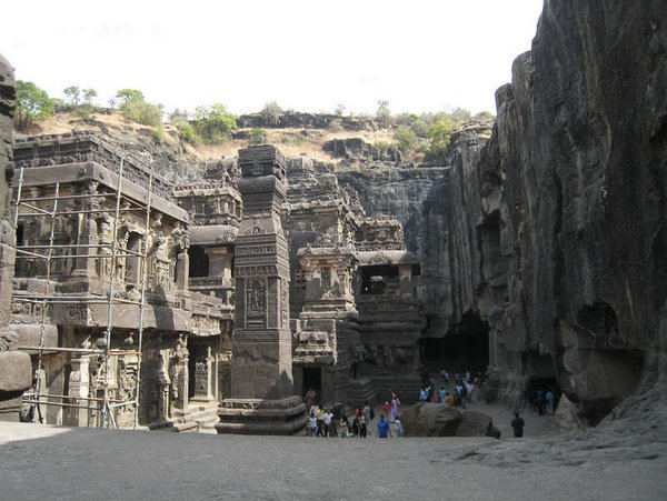 temples of india 13 Amazing Cliff Temples of India   The Ellora Caves