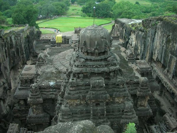 temples of india 18 Amazing Cliff Temples of India   The Ellora Caves