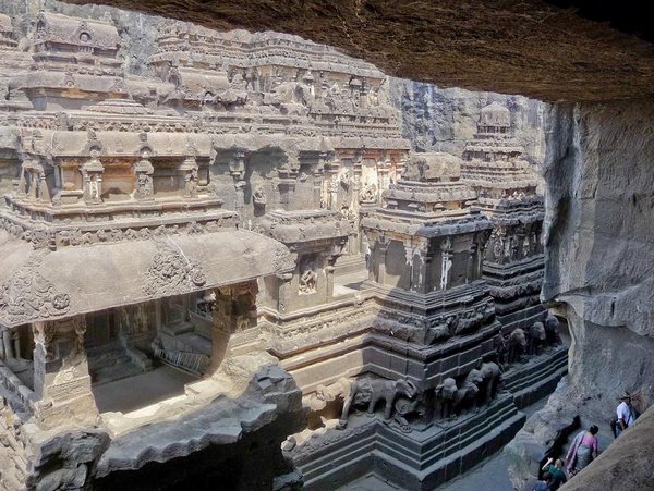 temples of india 19 Amazing Cliff Temples of India   The Ellora Caves