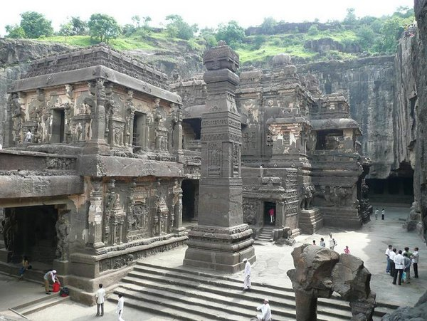 temples of india 20 Amazing Cliff Temples of India   The Ellora Caves