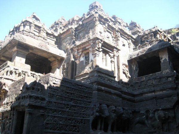 temples of india 22 Amazing Cliff Temples of India   The Ellora Caves