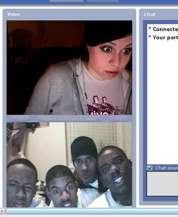 chatroulette screenshots 04 15 Funny ChatRoulette Screenshots