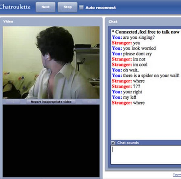 chatroulette screenshots 05 15 Funny ChatRoulette Screenshots