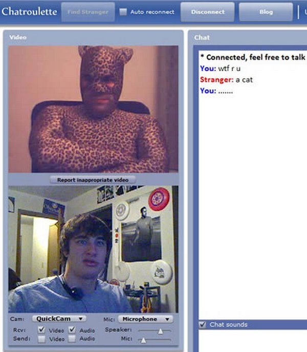 chatroulette screenshots 07 15 Funny ChatRoulette Screenshots