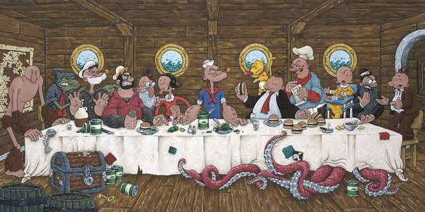 last supper parodies 11 12 Best Leonardo Da Vinci's Last Supper Parodies In TV Series