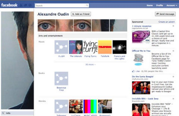 unique facebook profiles 04 20 Unique Facebook Profiles