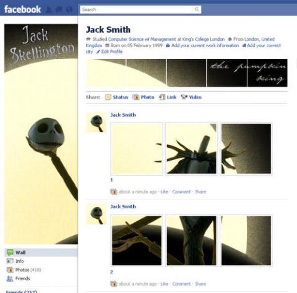 unique facebook profiles 17 20 Unique Facebook Profiles